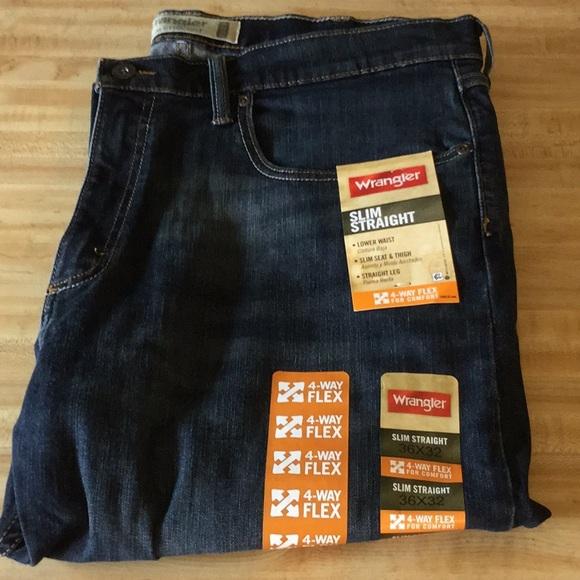 8afbbd3d Wrangler Jeans   Mens New Slim Straight   Poshmark